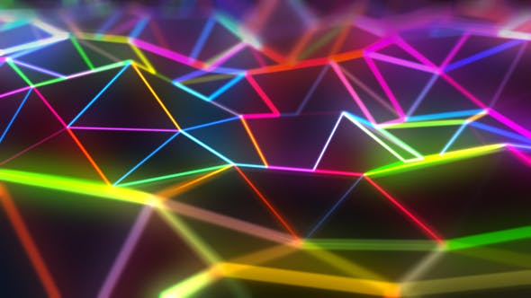 Cover Image for Abstract Triangle Background 02