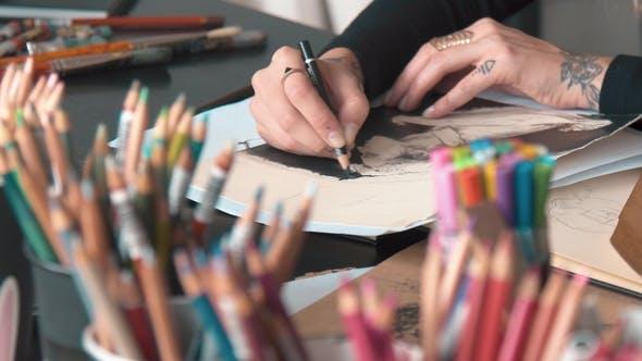 Thumbnail for Künstlerfarben Zeichnungen