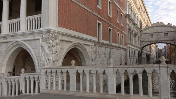 Thumbnail for Bridge of Sighs or Ponte Dei Sospiri in Venice