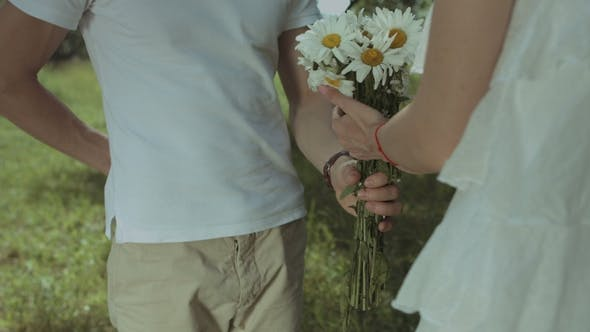 Thumbnail for Loving Man Giving Engagement Ring To Beloved Woman
