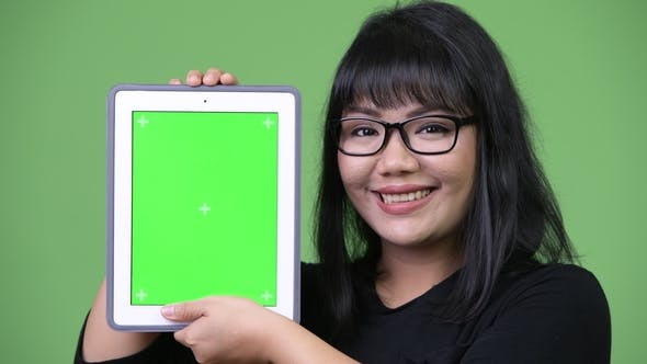 Thumbnail for Businesswoman Showing Digital Tablet