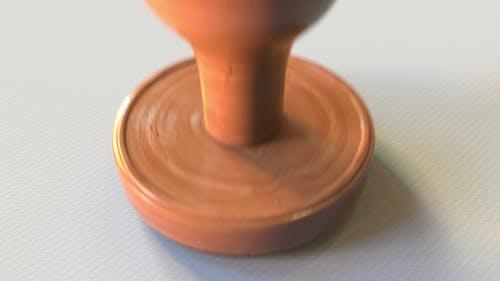 DOPING TEST Failed Holzstempel