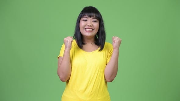 Thumbnail for Beautiful Happy Asian Woman Looking Excited