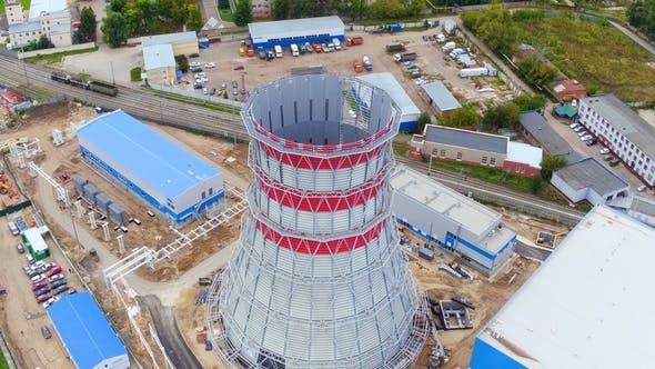 Thumbnail for Gebaut Turm unter Heizstation Baustelle