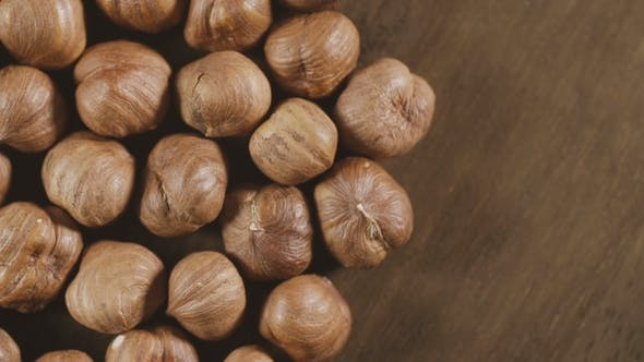 Thumbnail for Hazelnuts . Smooth Rotation. Filler for Walnut Paste and Chocolate.