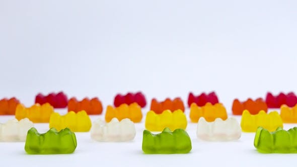 Thumbnail for Popular Gelatin Candies Shaped in the Form of a Bear