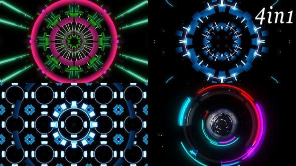 Thumbnail for Impulse Collider - VJ Loop Pack (4in1)