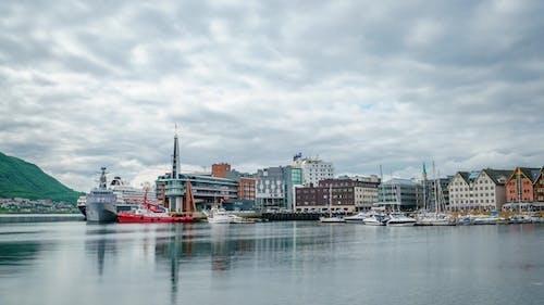 Marina in Tromso, North Norway