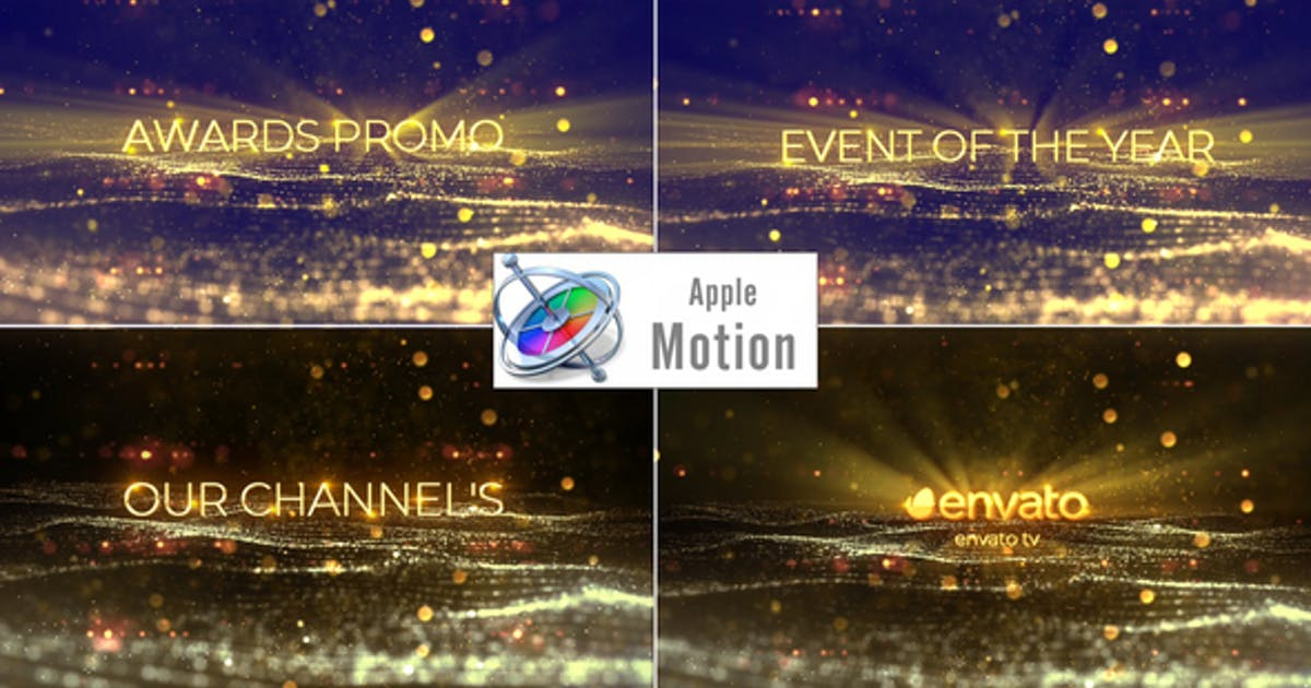 Download Award Show Titles - Apple Motion by StrokeVorkz