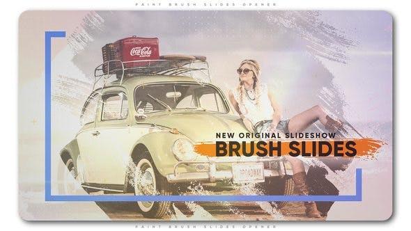 Cover Image for Paint Brush Slides Opener