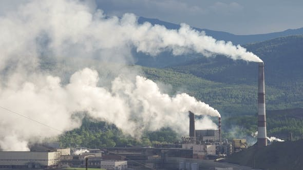 Thumbnail for Air Pollution From Industrial Plants.