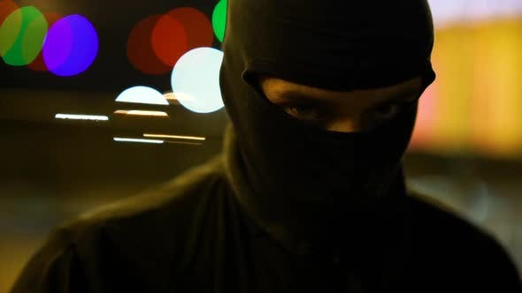 Thumbnail for Man In Balaclava