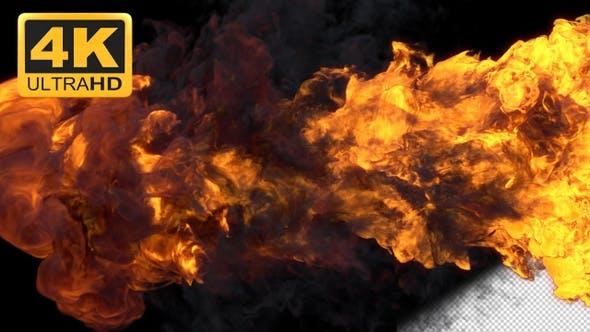 Thumbnail for Fire Reveal 4k