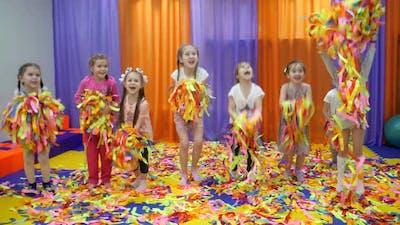 Children's Playroom. Paper Show for Children.