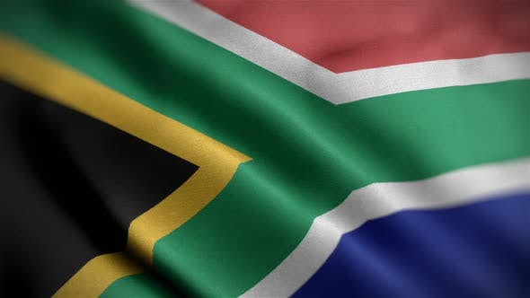 South African Flag Angle