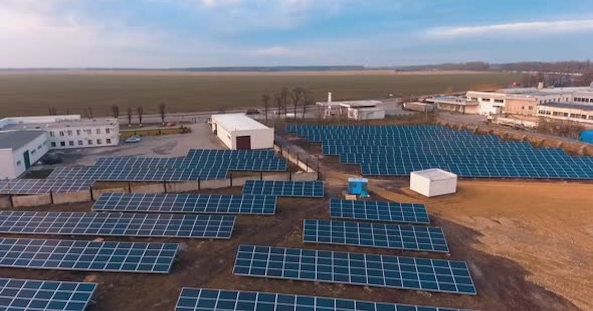 Solar Panels for Production of Electricity