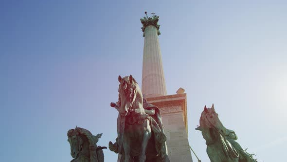 Thumbnail for Low angle view of the Millennium Monument