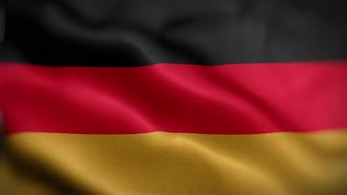 German Flag Front
