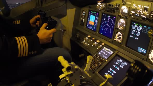 Thumbnail for Civil Aircraft Cockpit