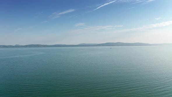 Thumbnail for Drone Footage Aerial View of Balaton Lake, Hungary