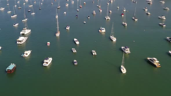 Cover Image for Top view of Hong Kong yacht club in Sai Kung
