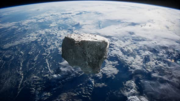 Thumbnail for Dangerous Asteroid Approaching Planet Earth