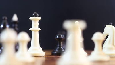 Figures On A Chess Board