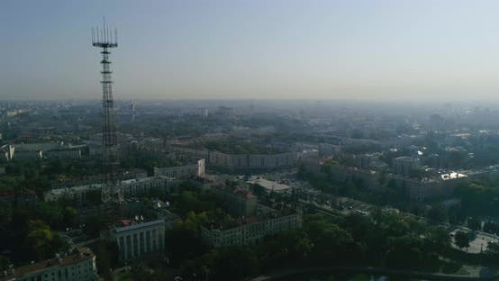 Thumbnail for Morning in Minsk City Center Capital of Belarus