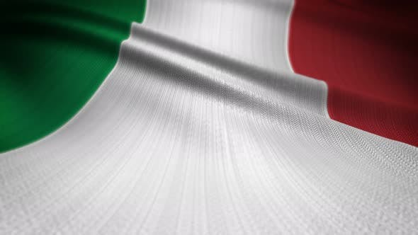 Cover Image for Italy Flag Seamless Loop