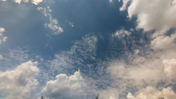 Noon Sky Time Lapse 1080