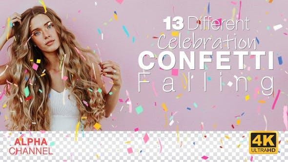 Thumbnail for Celebration 4K Confetti Pack
