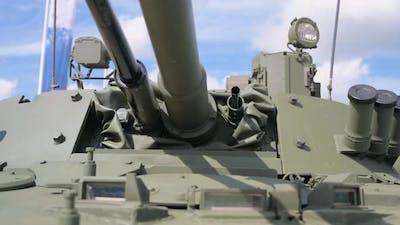 Armored Tank Turret