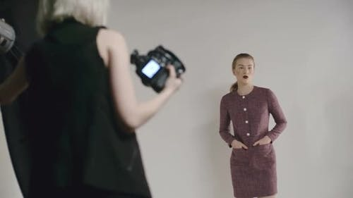 Fashion Photo Shoot Process