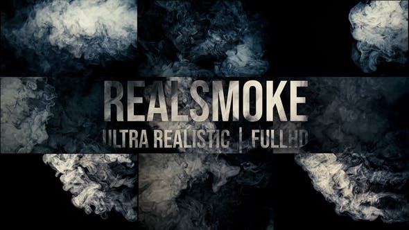 Thumbnail for Real Smoke (14 footage pack)