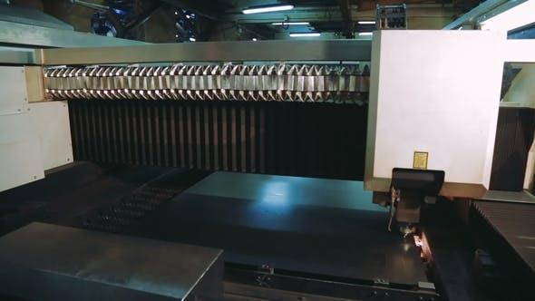 Thumbnail for Metalworking Laser Machine Cutting Metal Processing Technology