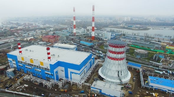 Thumbnail for Thermal Power Plant Generates Electrical Energy By Fuel