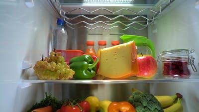 Products in the Refrigerator.