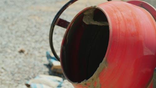 Preparation of Mortar in a Small Concrete Mixer