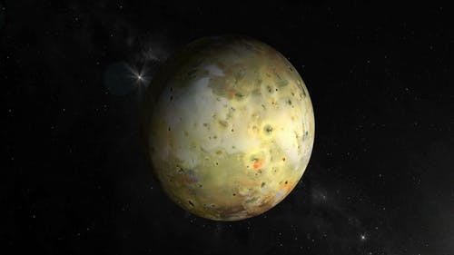 Io, Jupiter's Moon