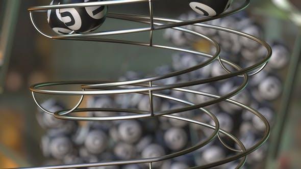 Lottery Balls Make Up LUCK Word