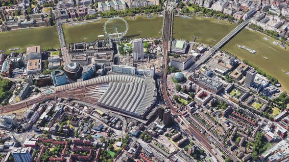 Thumbnail for 4K Flying Over London City