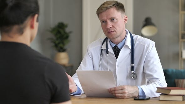 Thumbnail for Doctor Talking with Patient and Discussing Treatment Plan