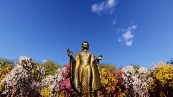 Thumbnail for Gold Buddha Statue