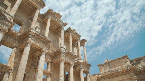 Efes Ancient Greek City in Present Day Izmir, Turkey