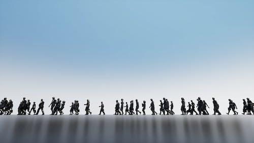 Tiny People's Walk Background