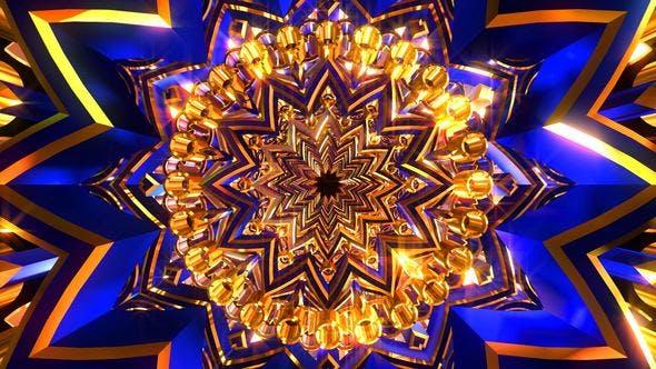 Thumbnail for Golden Blue Ornament