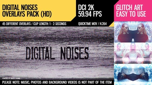 Thumbnail for Digital Noises (DCI2K)