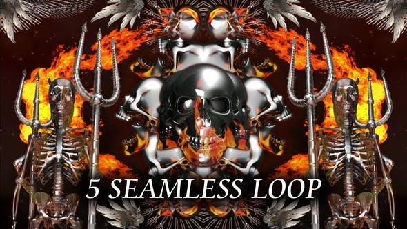 Thumbnail for Hell Skull