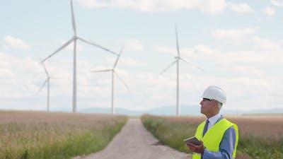 Windmills Inspection Eco Energy Renewal Energy