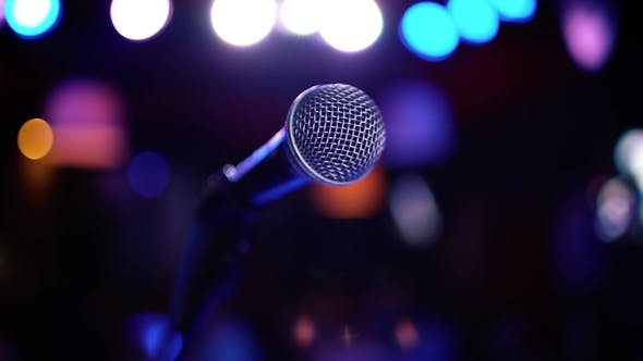 Thumbnail for Microphone on Stage